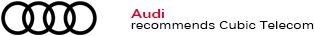 Audi recommends Cubic Telecom data plans service